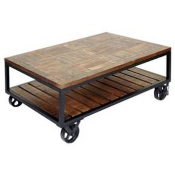 Fantastic Top Wheels Coffee Tables Within Best Coffee Table With Wheels Products On Wanelo (View 44 of 50)