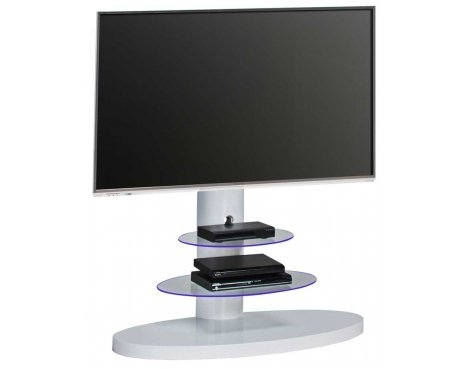 Fantastic Top White Cantilever TV Stands Throughout 1636 White Cantilever Tv Stand (Image 20 of 50)