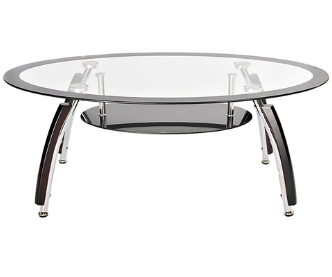 Fantastic Trendy Black Oval Coffee Tables In Oval Glass Coffee Table (View 30 of 40)