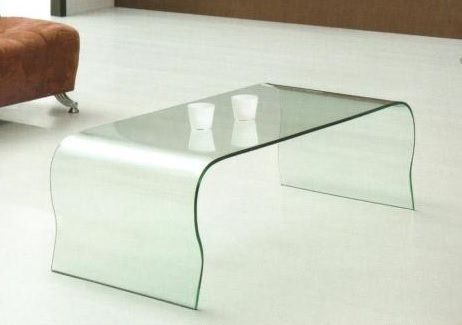 Fantastic Trendy Curved Glass Coffee Tables With Regard To Curved Glass Coffee Table (Image 20 of 50)