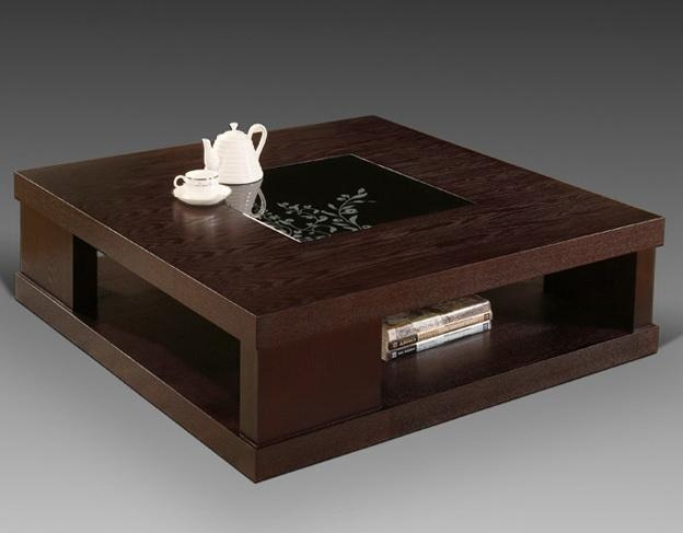 Fantastic Trendy Dark Mango Coffee Tables Inside Dark Wood Coffee Table (Image 13 of 40)