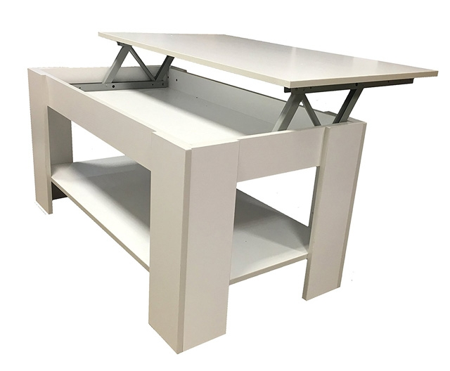 Fantastic Trendy Desk Coffee Tables Regarding 21 Coffee Tables With Hidden Storage Space Vurni (Image 13 of 50)