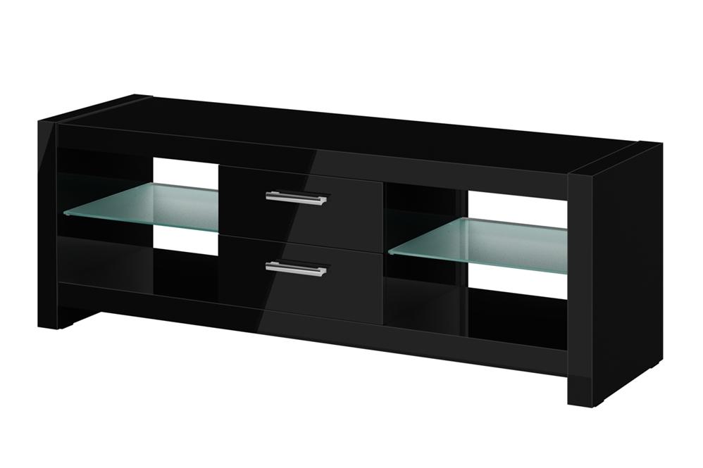 Fantastic Trendy Shiny Black TV Stands For Bedroom Awesome Olsen Chic140 High Gloss Black 1400mm Tv Cabinet (Image 21 of 50)