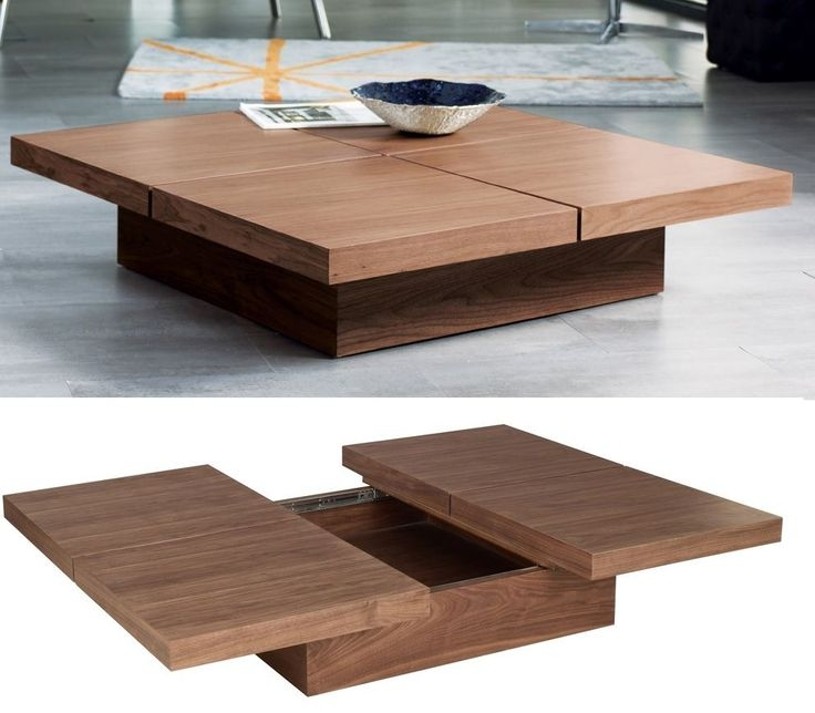 Fantastic Trendy Square Wood Coffee Tables With Storage In Best 25 Coffee Table With Storage Ideas Only On Pinterest (View 2 of 50)