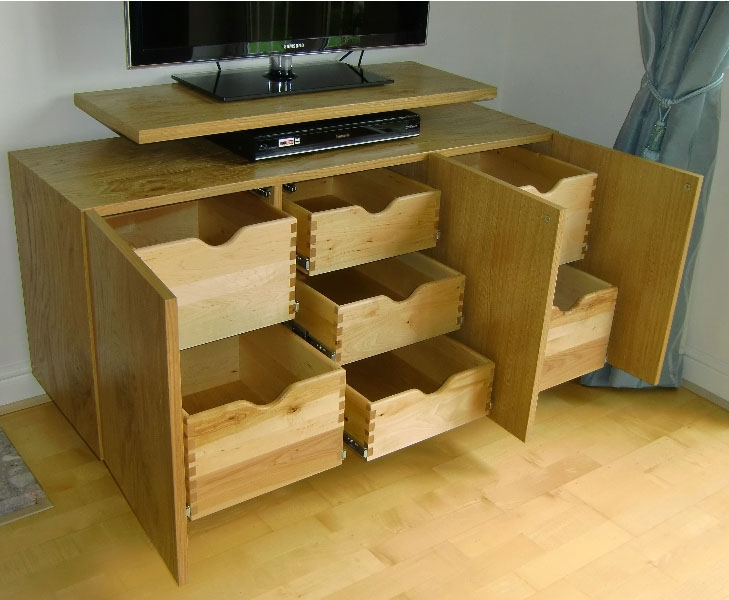 Fantastic Trendy TV Cabinets With Storage With Made To Measure Tv Stands Built Near Leeds West Yorkshirefine (Image 25 of 50)
