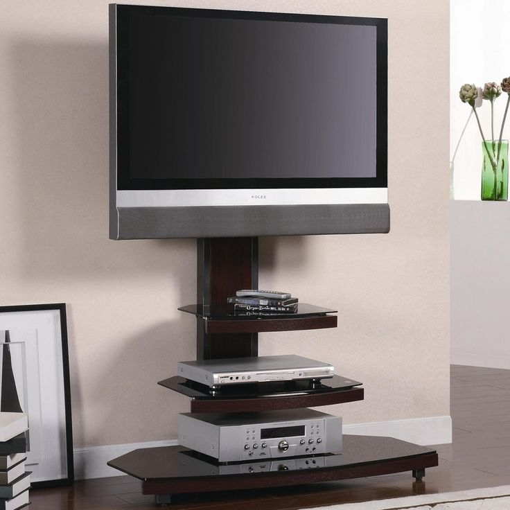 Fantastic Trendy White Glass TV Stands Regarding Best 25 Black Glass Tv Stand Ideas On Pinterest Penthouse Tv (Image 26 of 50)