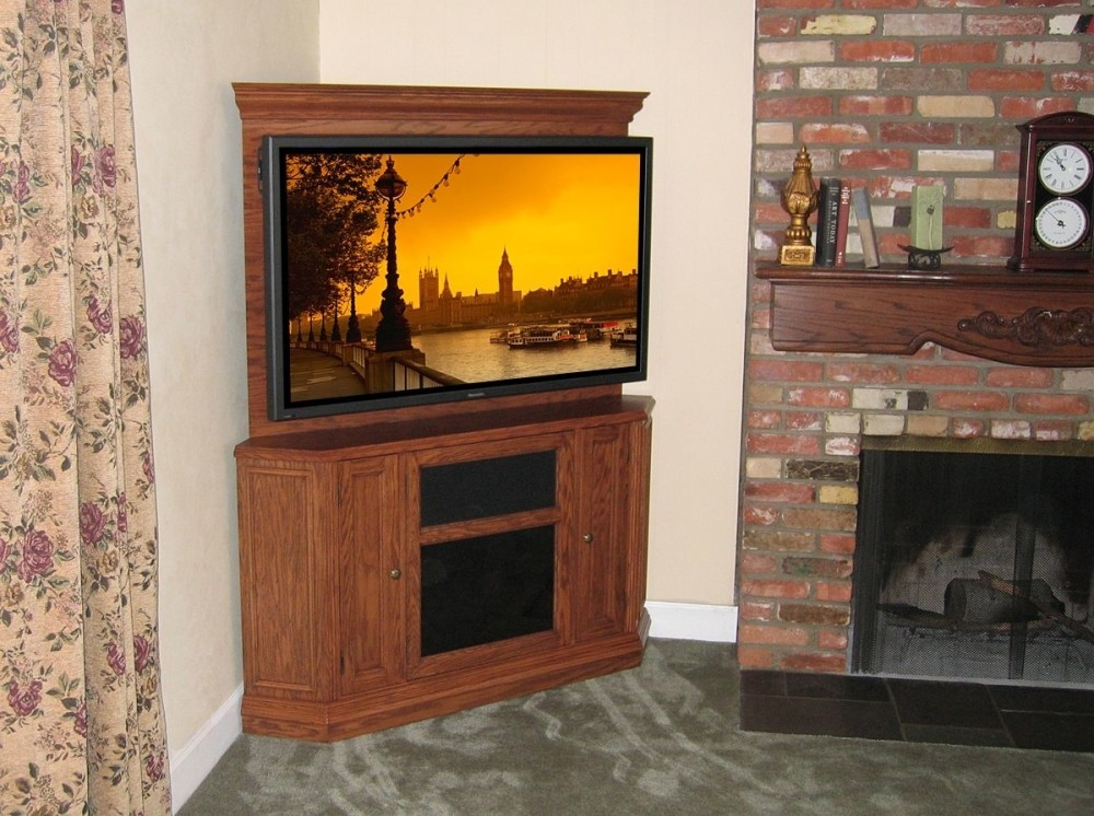 Fantastic Unique Corner TV Cabinets For Flat Screen With Regard To Tv Stands 10 Favorite Design Corner Tv Stands For Flat Screens (View 37 of 50)