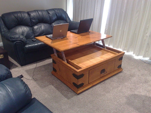 Fantastic Unique Desk Coffee Tables Throughout Living Room Top Convertible Coffee Table Desk For Tall People With (Image 14 of 50)