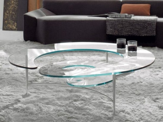 Fantastic Unique Glass Coffee Tables Throughout All Glass Coffee Table (Image 19 of 50)