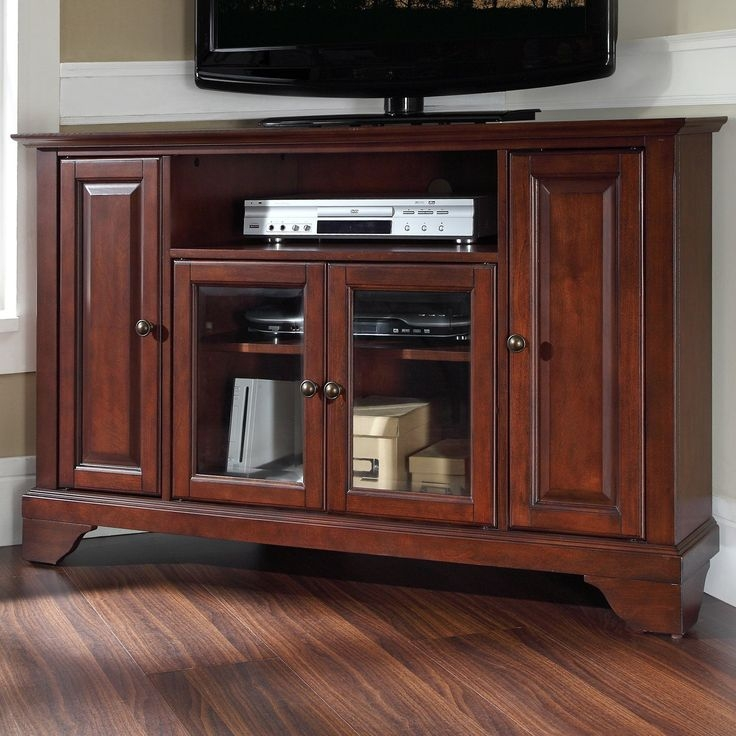 Fantastic Unique Mahogany Corner TV Stands For Best 25 Mahogany Tv Stand Ideas On Pinterest Room Layout Design (Image 19 of 50)