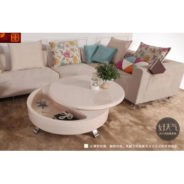 Fantastic Unique Round High Gloss Coffee Tables With Regard To Coffee Color High Gloss Round Coffee Table With Stainless Steel (View 5 of 50)