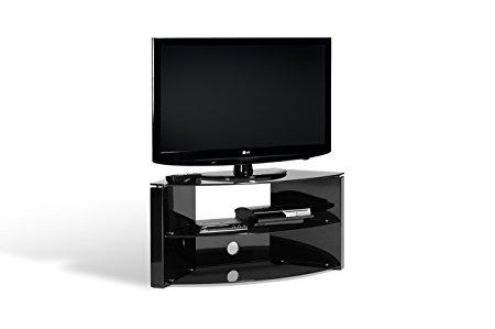 Fantastic Unique Techlink Corner TV Stands Regarding Amazon Techlink Bench Corner Tv Stand With Curved High Gloss (Image 20 of 50)