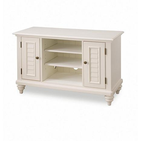 Fantastic Unique TV Stands White Within Bermuda Tv Stand White 6621173 Hsn (View 43 of 50)