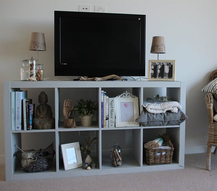 Fantastic Unique TV Stands With Bookcases Throughout Best 25 Ikea Hack Tv Stand Ideas On Pinterest Console Ikea (Image 19 of 50)