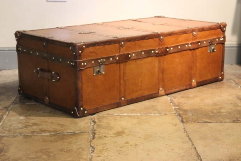 Fantastic Unique Very Large Coffee Tables Regarding Storage Chest Coffee Table Wood Trunk Coffee Table Rustic Chest (Image 26 of 50)