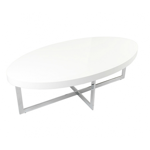 Fantastic Unique White Oval Coffee Tables With Regard To Oval Coffee Table Modern Table And Estate (View 2 of 50)