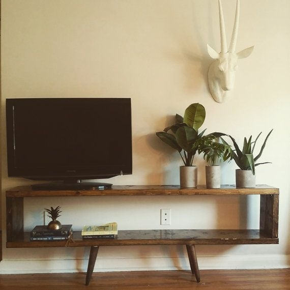 Fantastic Variety Of Cheap Rustic TV Stands Inside Best 25 Wall Tv Stand Ideas On Pinterest Tv Feature Wall Tv (View 35 of 50)