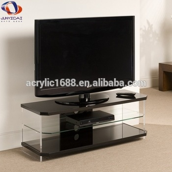 Fantastic Variety Of Clear Acrylic TV Stands Pertaining To Wholesale Clear Acrylic Tv Stand Table Buy Clear Acrylic Tv (Image 24 of 50)