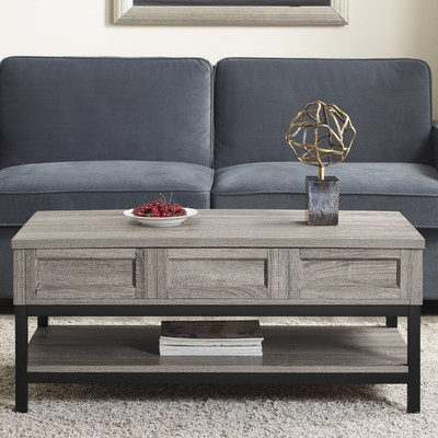 Fantastic Variety Of Coffee Table With Raised Top Within Laurel Foundry Modern Farmhouse Omar Coffee Table With Lift Top (Image 22 of 50)