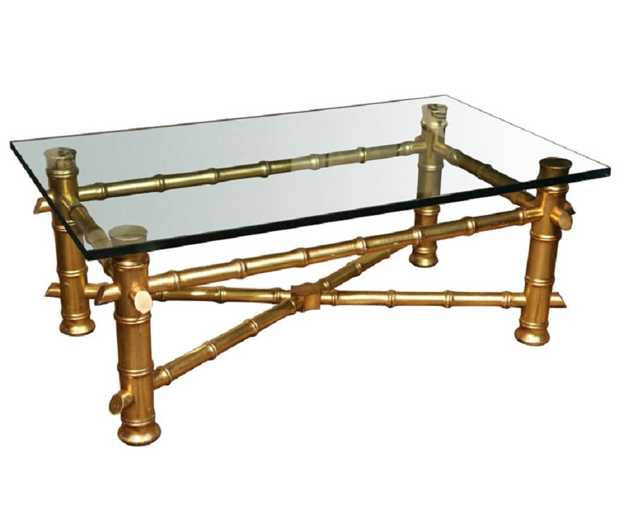 Fantastic Variety Of Gold Bamboo Coffee Tables Regarding Bamboo Coffee Table For The Natural Feeling At Home Coffee Table (View 8 of 50)