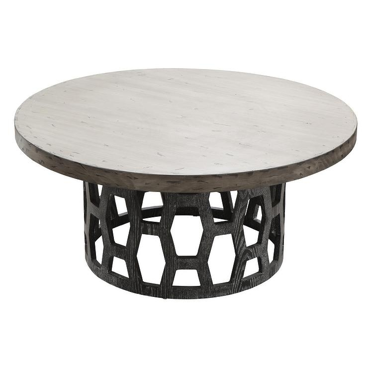 Fantastic Variety Of Gray Wood Coffee Tables In Vince Metal Clad Coffee Table In Gold (Image 17 of 50)
