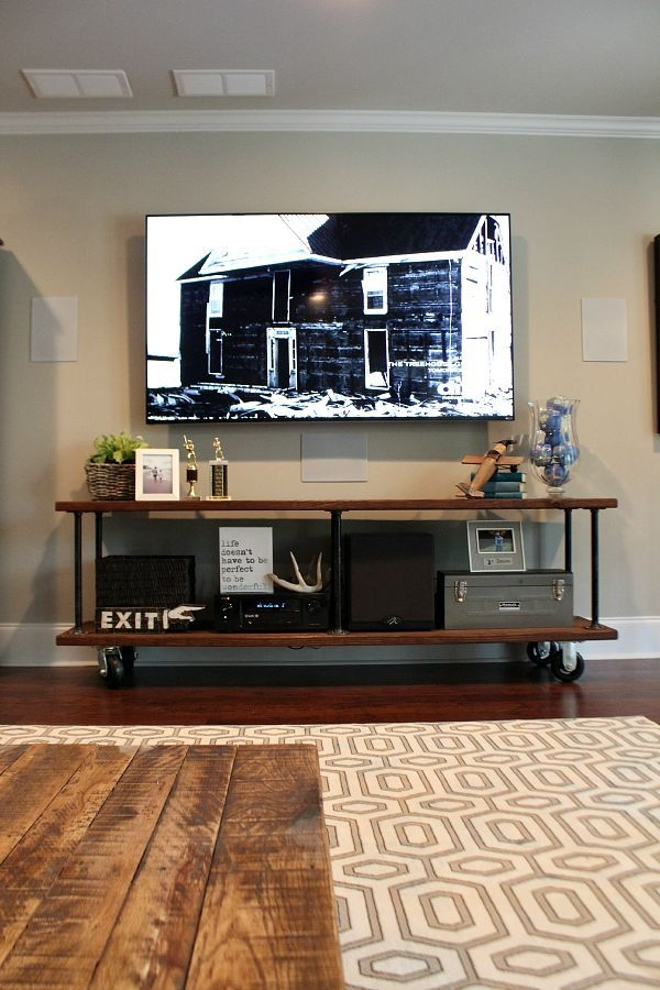 Fantastic Variety Of Industrial Corner TV Stands Throughout Tv Stands Glamorous Electric Fireplace Corner Tv Stand  (Image 25 of 50)