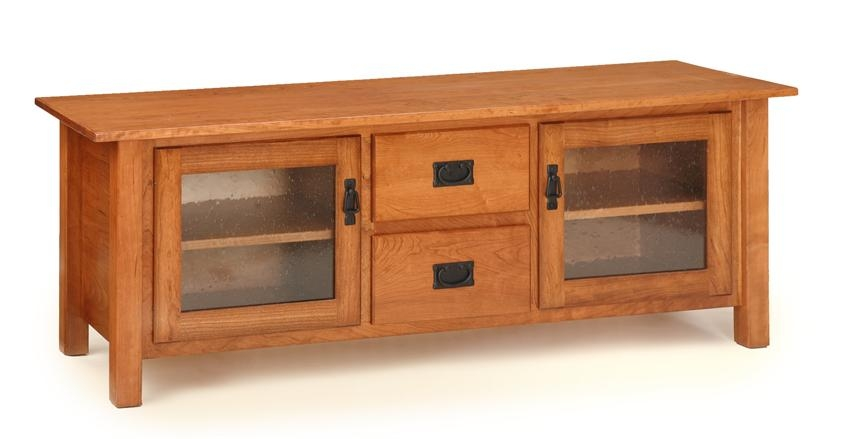 Fantastic Variety Of Maple TV Stands Within Mission Amish Made Tv Stands From Dutchcrafters Amish Furniture (View 7 of 50)