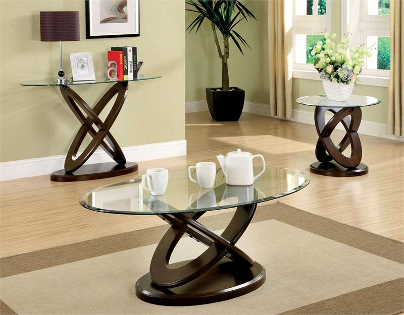 Fantastic Variety Of Oval Glass And Wood Coffee Tables With Glass Oval Coffee Table Shelves Coffee Tables Zone Trendy And (Image 21 of 50)