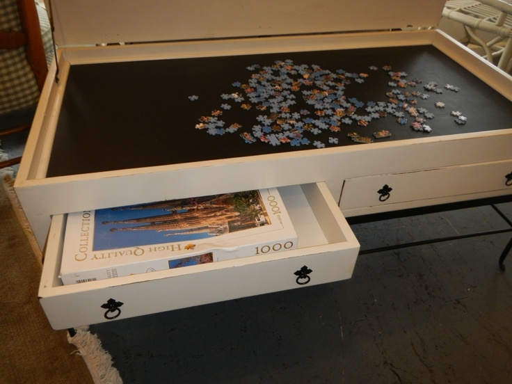 Fantastic Variety Of Puzzle Coffee Tables With Best 25 Puzzle Table Ideas On Pinterest Puzzle Board Jigsaw (Image 17 of 40)