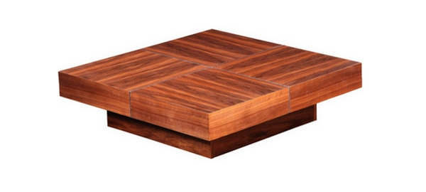 Fantastic Variety Of Square Coffee Tables Throughout 20 Contemporary Designs Of Square Coffee Tables Home Design Lover (Image 21 of 50)