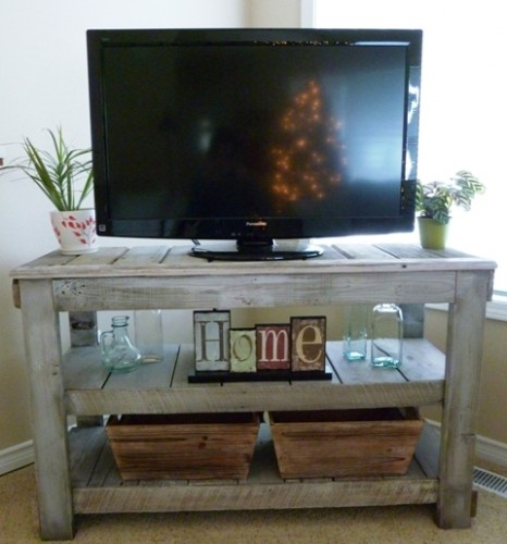 Fantastic Variety Of Telly TV Stands In 13 Diy Plans For Building A Tv Stand Guide Patterns (Image 19 of 50)