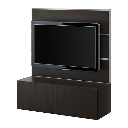 21 Best To Fix Ugly Brown Couch Images On Pinterest: 50 Collection Of TV Stands With Back Panel