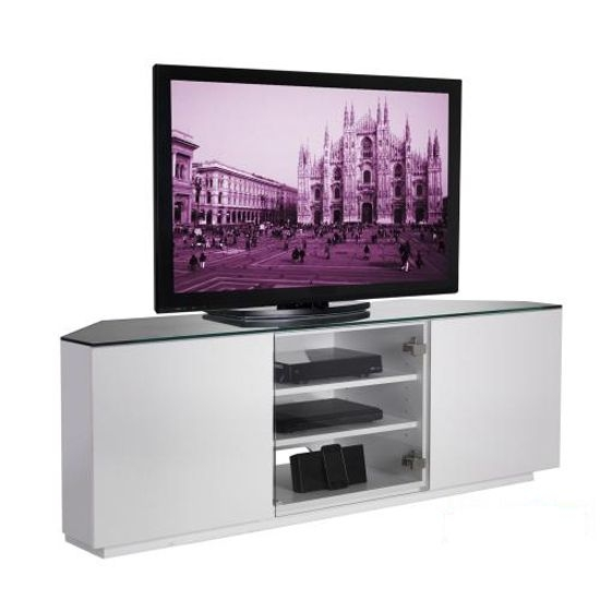 Fantastic Variety Of White Gloss Corner TV Stands With Regard To 10 Best Tv Stand Images On Pinterest Home Stand In And Corner (View 16 of 50)