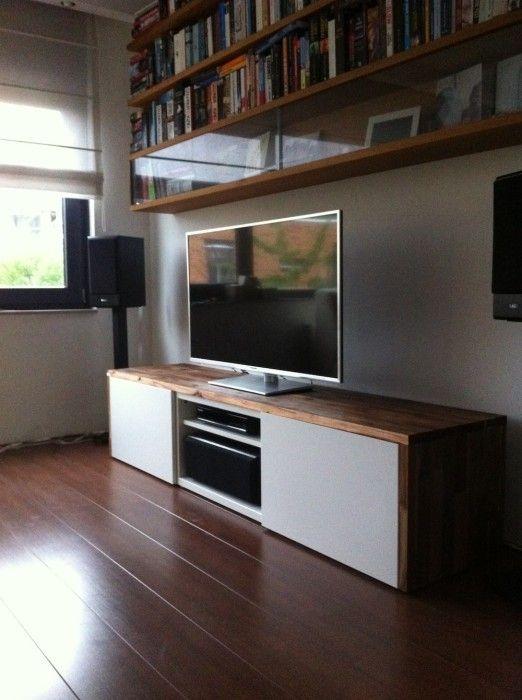 Fantastic Variety Of Wood TV Stands With Glass Top Regarding Tv Stands Amusing Besta Ikea Tv Stand 2017 Design Besta Ikea Tv (Image 18 of 50)