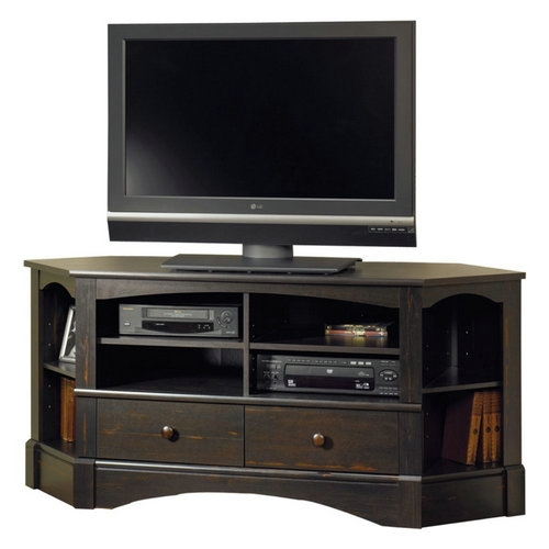 Fantastic Well Known 40 Inch Corner TV Stands Regarding Reviews Sauder Harbor View Corner Tv Stand For 40 Inch Tv Best (Image 18 of 50)