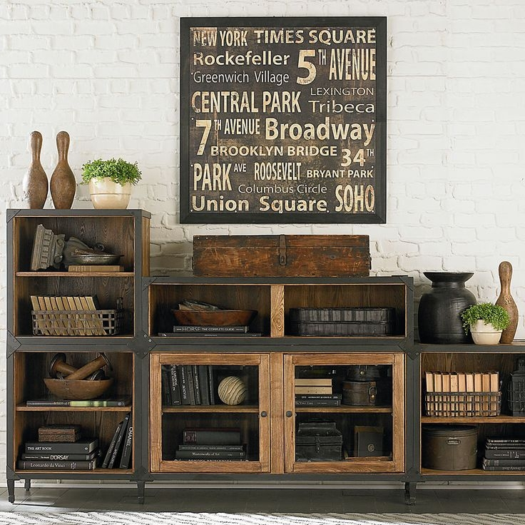 Fantastic Wellknown Antique Style TV Stands Regarding Best 20 Industrial Tv Stand Ideas On Pinterest Industrial Media (Image 20 of 50)