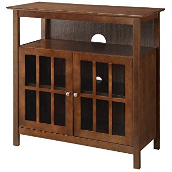 Fantastic Well Known Big TV Stands Furniture Inside Amazon Walker Edison 42 Highboy Style Wood Tv Stand Console (Image 21 of 50)