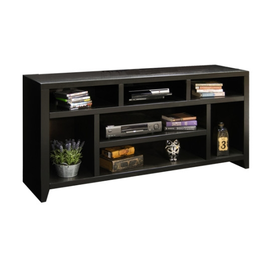 Fantastic Wellknown Contemporary Black TV Stands With Legends Furniture Urban Loft 66 Tv Stand Tv Stands Black Wayfair (View 41 of 50)
