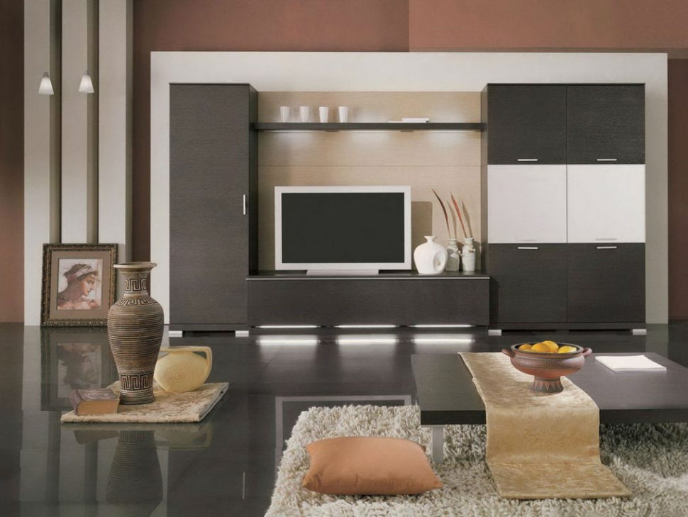 Fantastic Well Known Enclosed TV Cabinets For Flat Screens With Doors Within Living Room Furniture White Built In Enclosed Tv Cabinets Flat (Image 23 of 50)