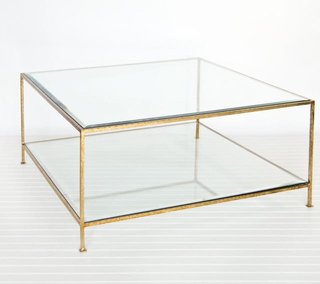 Fantastic Wellknown Glass Square Coffee Tables Throughout Square Glass Coffee Table (View 3 of 50)