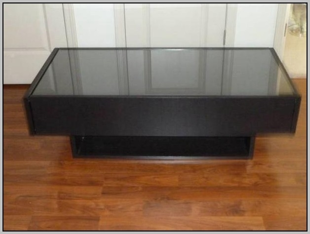 Fantastic Wellknown Glass Top Display Coffee Tables With Drawers Throughout Glass Top Display Coffee Table With Drawers Coffee Table Home (Image 27 of 50)
