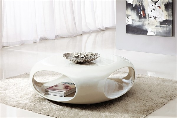 Fantastic Wellknown Gloss Coffee Tables Inside Mirage Square Storage Coffee Table In White High Gloss Modenza (View 41 of 50)