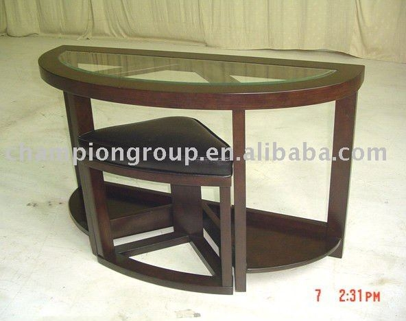 Fantastic Wellknown Half Circle Coffee Tables Intended For Half Moon Glass Table Half Moon Glass Table Suppliers And (View 18 of 40)