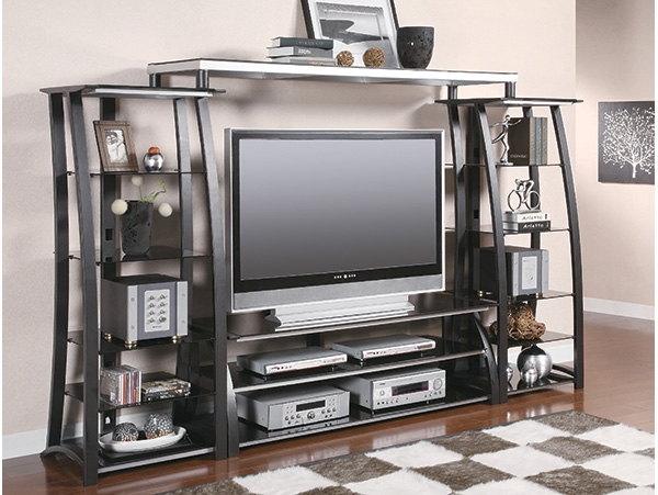 Fantastic Wellknown Industrial Metal TV Stands With Industrial Metal Tv Stand On The Go Living (Image 22 of 50)