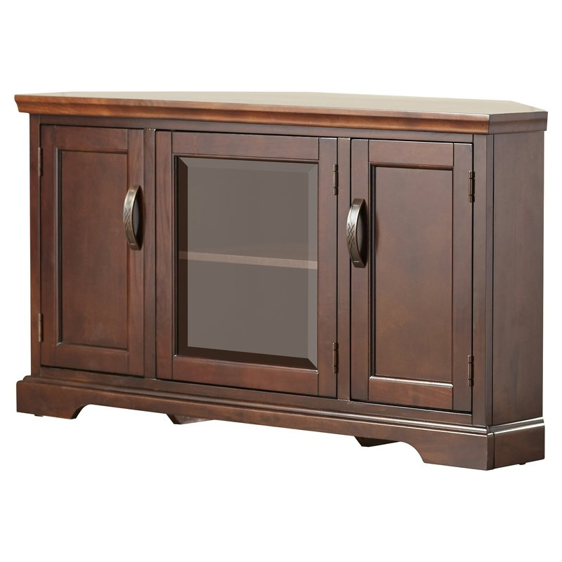 Fantastic Well Known Light Oak Corner TV Cabinets Regarding Shop 148 Corner Tv Stands (Image 27 of 50)