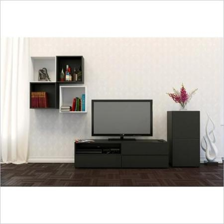 Fantastic Wellknown Nexera TV Stands Intended For Buy Nexera Allure Tv Stand And Open Storage And 1 Door Storage (View 15 of 50)