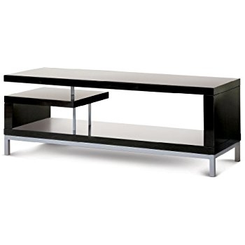 Fantastic Wellknown Ovid TV Stands Black With Regard To Amazon Techlink Ovid Tv Stand With Curved High Gloss Carcass (Image 21 of 50)