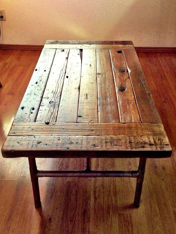 Fantastic Well Known Reclaimed Wood Coffee Tables In Reclaimed Wood Coffee Table Lets Have A Vintage Era (View 16 of 50)
