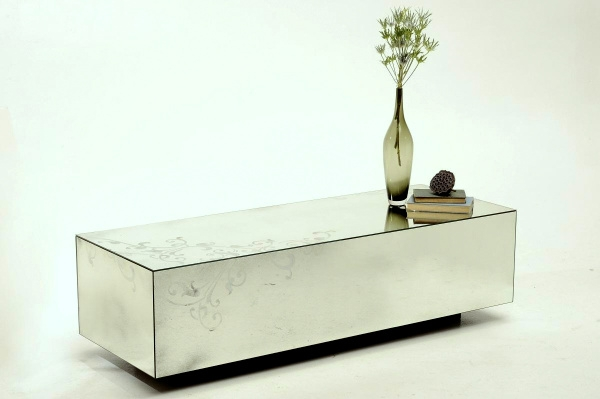 Fantastic Wellknown Small Mirrored Coffee Tables For Small Mirrored Cube Table Vanities Decoration (View 29 of 50)