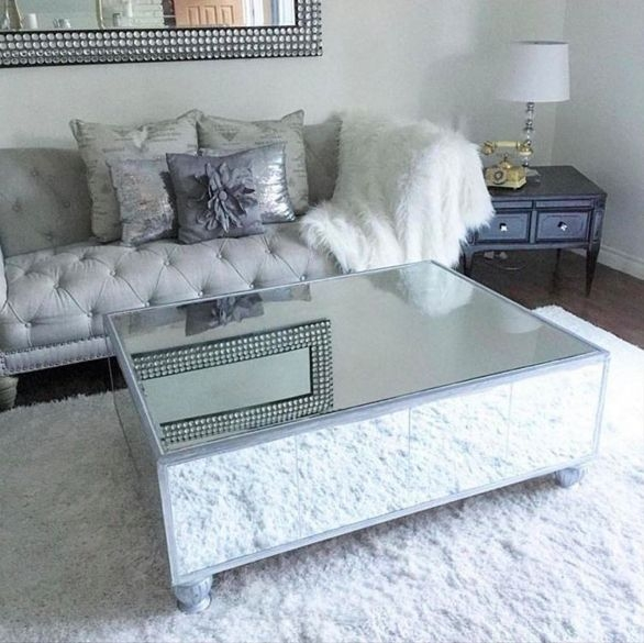 Fantastic Wellknown Small Mirrored Coffee Tables With Regard To Best 20 Mirrored Coffee Tables Ideas On Pinterest Home Living (View 3 of 50)